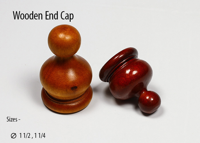 wooden End Cap